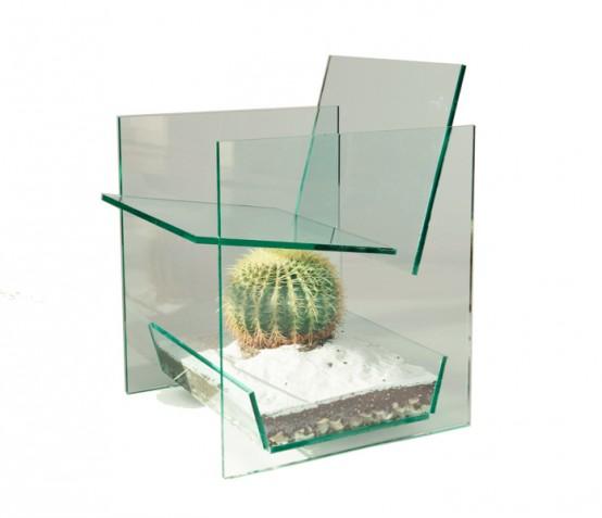 Идеи из стекла в дизайне
