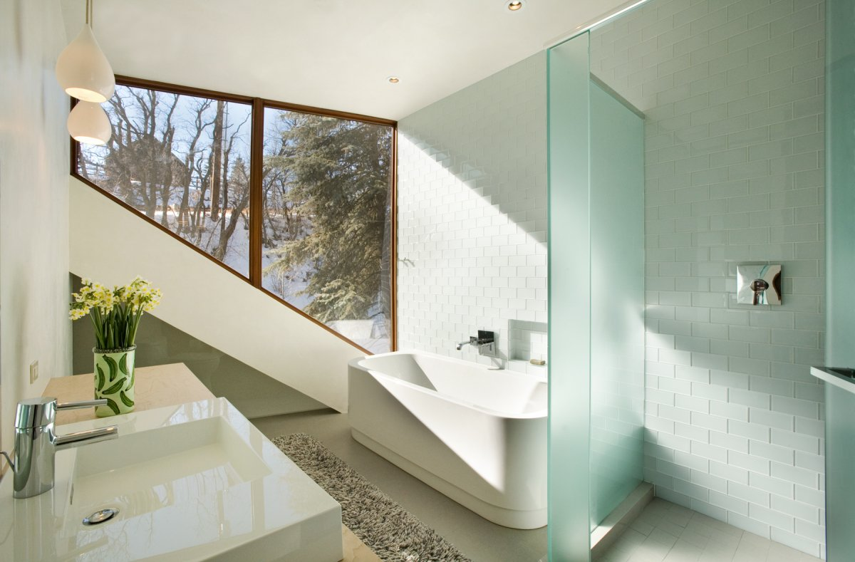 furniture-sweet-image-of-modern-white-bathroom-decoration-using-frosted-glass-room-divider-in-bathroom-including-light-blue-glass-tile-shower-wall-and-rectangular-modern-white-freestanding-bathtub-hea