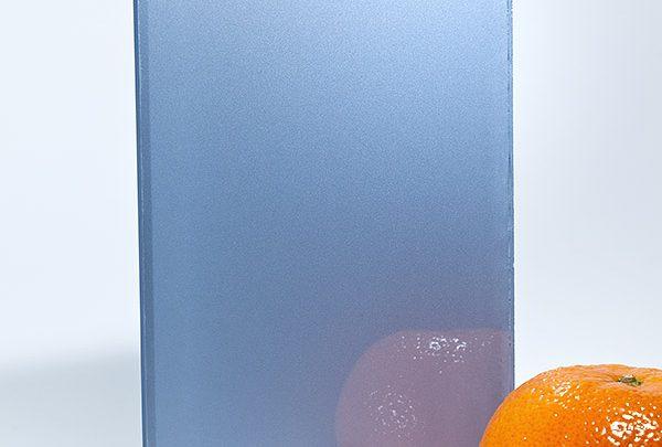 стекло ref 1435 серо-голубой металлик