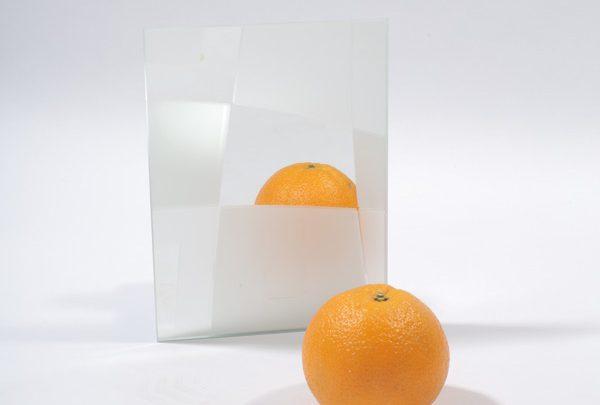 зеркало сатин «пространство». серебро