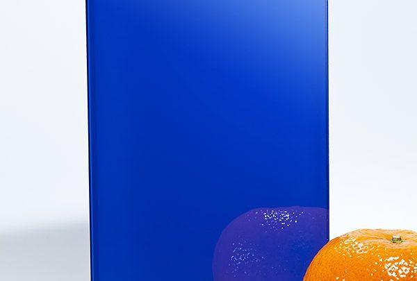 стекло ral 5002 ярко-синий
