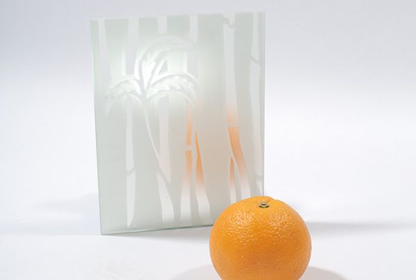 зеркало сатин «бамбук». серебро