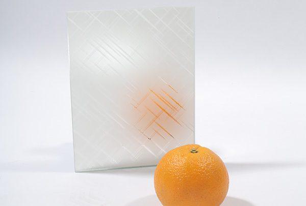зеркало сатин «лабиринт» (косой). серебро