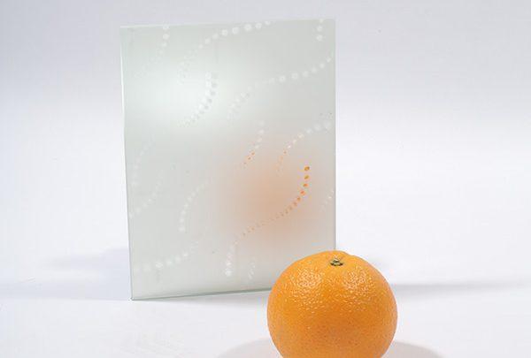 зеркало сатин «колье». серебро