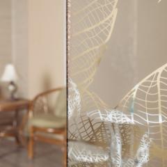 зеркало листья серебро