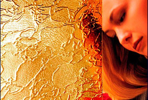 стекло «дельта» 121 золото
