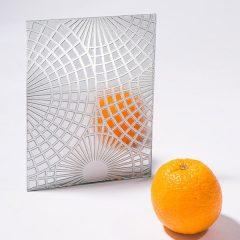 стекло с серебром