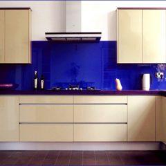 фартук серии цвет синий