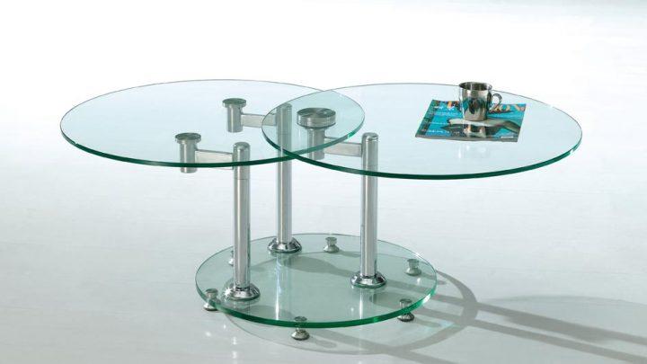 кофейный столик из стекла цена