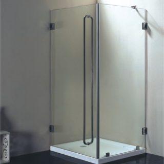 Душевая кабина с одной дверью.  Стандартные размеры:  - 100 CM (Ширина) X 195 CM (Высота) X 70 CM (Глубина) - 110 CM (Ширина) X 195 CM (Высота) X 80 CM (Глубина) - 120 CM (Ширина) X 195 CM (Высота) X 90 CM (Глубина)  Наполнение: 1 дверь, металлические крепления и дверные ручки.  Базовая цена: