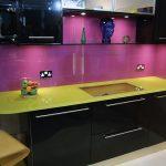 фартук серии цвет фиолетовый