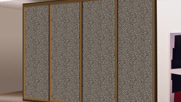 4-дверный шкаф-купе SMC-170 Бронза