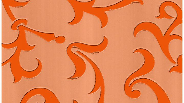 цветная пленка оранжевый