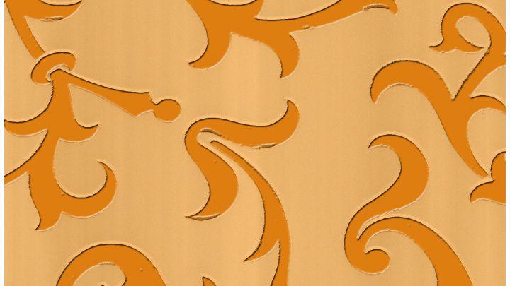 цветная пленка постельно оранжевый