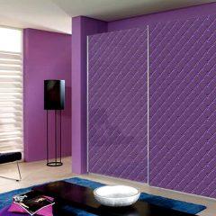 04 шкаф-купе фиолетовый стекло