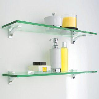 Описание В нашей компании вы можете заказать полки из стекла любого формата и конфигурации, с прозрачным или тонированным стеклом.