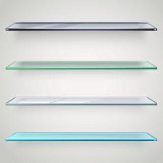 Стильные полки из стекла - воплощение изысканности и современности. Выбирайте подходящий к вашему интерьеру оттенок и размеры.  Стоимость рассчитывается в зависимости от параметров.
