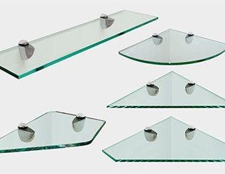 Полка угловаяиз прозрачного стекла - отличное решение для рационального использования пространства в помещении или ванной комнате.  Толщина стекла: 8 мм. Размеры: 400мм(высота)х700мм(длина)х300мм(ширина)
