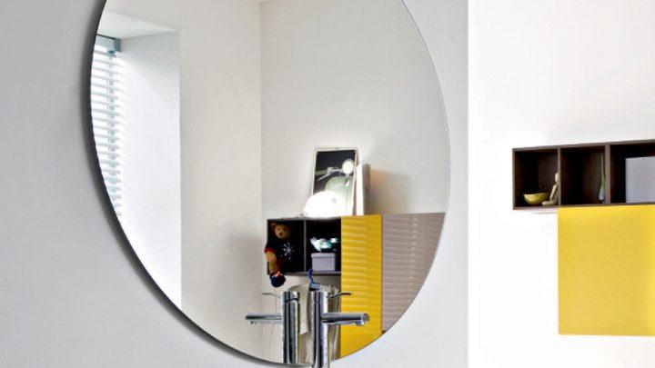 зеркало без рамы в квартиру