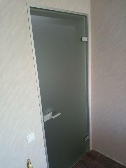 Стеклянные двери для дома