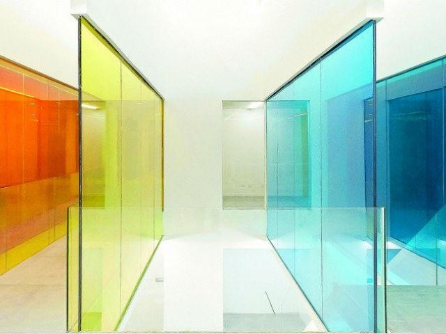 триплекс цветной