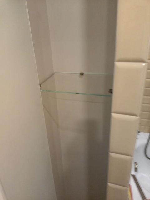 Полка из стекла 6мм 106