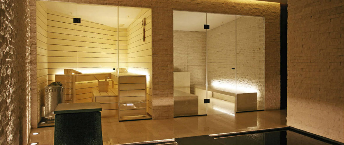 стеклянные двери для сауны и бани в москве
