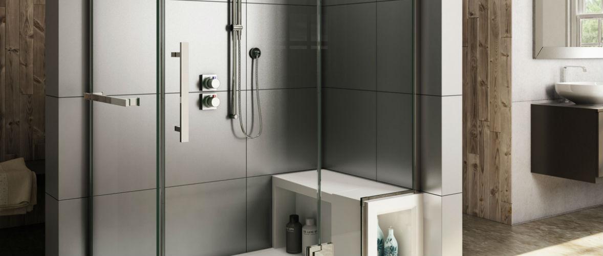 стеклянные двери в душ