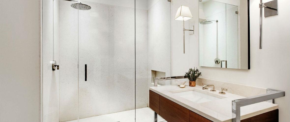 стеклянные двери в душ 2